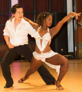 Soul and Nadege Salsa Show