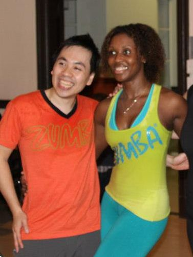 Soul  & Nadege Fitness Instructors